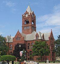 La Porte County courthouse.
